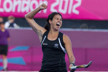 New Zealand Black Sticks captain Kayla Sharland at the 2012 Olympics. File photo / Brett Phibbs