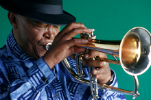Hugh Masekela. Photo / Supplied