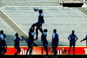 Blues lineout training. File photo / Brett Phibbs
