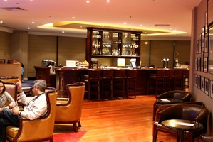 The Club Bar at the Spencer on Byron Hotel, Takapuna. File photo / Herald on Sunday