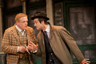 Owain Arthur as Francis and Ben Mansfield as Stanley. Photo / Johan Persson