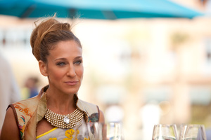 Sarah Jessica Parker spent so much time running around in heels as Carrie Bradshaw that she's caused a new bone to grow in her foot.Photo / Supplied