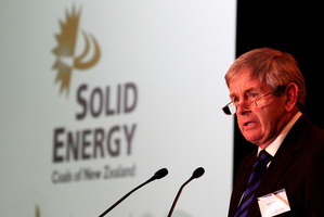 Solid Energy Chairman John Palmer. File photo / Martin Sykes