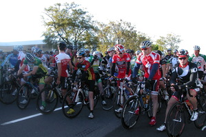 Cyclists at the Lake Taupo Cycle Challenge. Photo / APN
