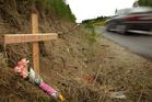 Welcome Bay Rd near Tauranga in which two sisters, Brooklyn Clark and Merepeka Morehu, were killed. File photo / Alan Gibson