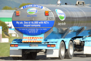Units of Fonterra Shareholders' Fund rose 1.9 per cent to $7.05. Photo / Ross Setford
