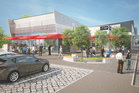 An artist's impression of The Foundation retail development at Oteha Valley Rd, Albany. Photo / Supplied
