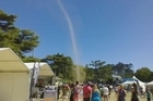 The Pasifika Festival draws thousands of locals and visitors to Auckland's Western Springs every year. This year visitors got a surprise when a mini tornado appeared. Courtesy: YouTube/subirex1