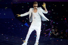 Justin Bieber performs at London's O2 Arena. Photo/AP