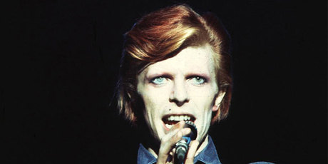 David Bowie performing in 1974. Photo/supplied