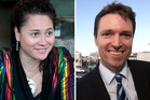 Labour MP Louisa Wall and Conservative Party leader Colin Craig. Photos / Michael Craig/Lynda Feringa