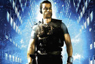 Guy Pearce in a promotional image for Lockout. Photo/supplied