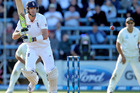 Kevin Pietersen in action during the opening day of the second test. Photo / Getty Images