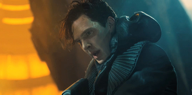 Loading Benedict Cumberbatch in a scene from Star Trek Into Darkness. Photo/supplied