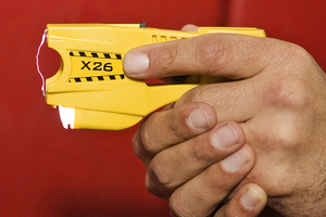 The complaint was made after police released footage from the Taser. Photo / File