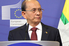 The President of Burma, U Thein Sein, will visit New Zealand next week. Photo / AP