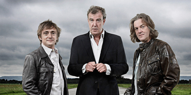 Top Gear stars Richard Hammond, Jeremy Clarkson and James May. Photo/supplied