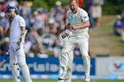 Neil Wagner celebrates a wicket in the first test. Photo / Getty Images