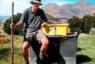 Pest controller Doug Beech has made West Wanaka a little safer for native fauna. Photo / Mark Price.