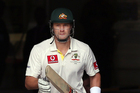 Australian all-rounder Shane Watson was one of the four players suspended along with James Pattinson, Usman Khawaja and Mitchell Johnson. Photo / Getty Images