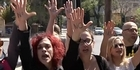 Watch: Raw: Cyprus delays key vote, as protests ensue