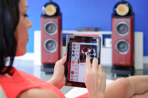 Music servers allow you to control your music library from your tablet or smartphone. Photo / NZ Herald