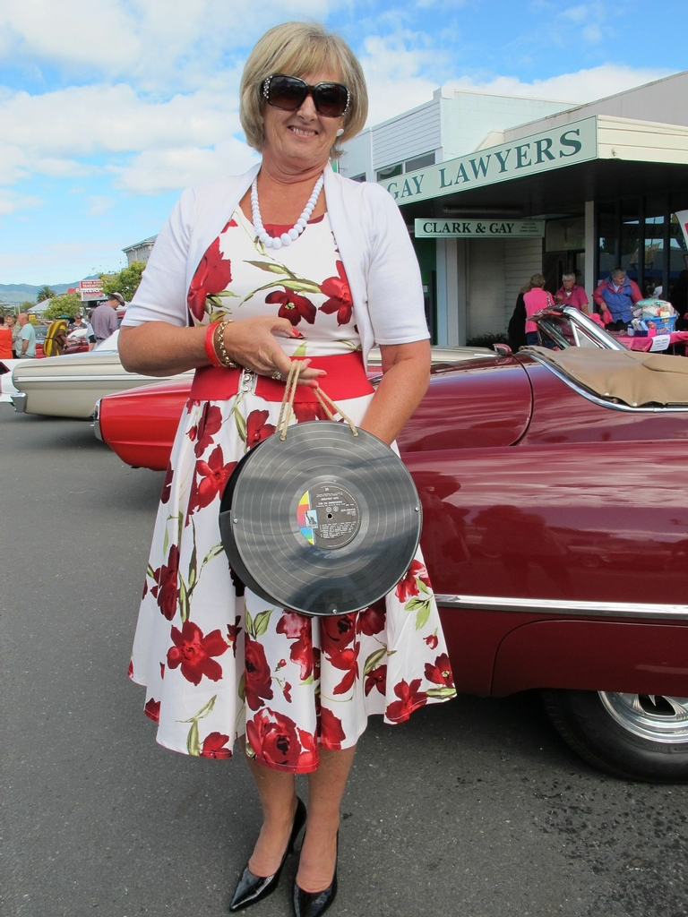 The atmosphere was great at the Waihi warm-up party of the 2013 Beach Hop.