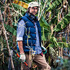 Landscape gardener Steve Roigard wears a Gubb & Mackie shirt, with a Barkers puffer vest and cotton cargo pants. Photo / NZH
