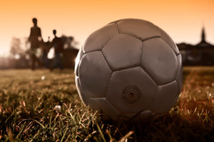 Playing soccer could power batteries to help you have light at night. Photo / Thinkstock
