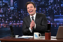 Jimmy Fallon is said to be taking over from Jay Leno on 'The Tonight Show'. Photo / AP