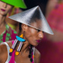 A model wears a creation from the Neon summer collection at Sao Paulo Fashion Week in Sao Paulo, Brazil. Photo / AP