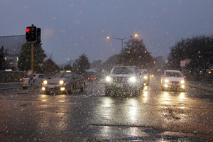 Police are warning motorists to take care on the roads after the weekend's rains. Photo / File photo