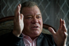 William Shatner is in Auckland promoting Sky's new re-runs channel. Photo / Sarah Ivey