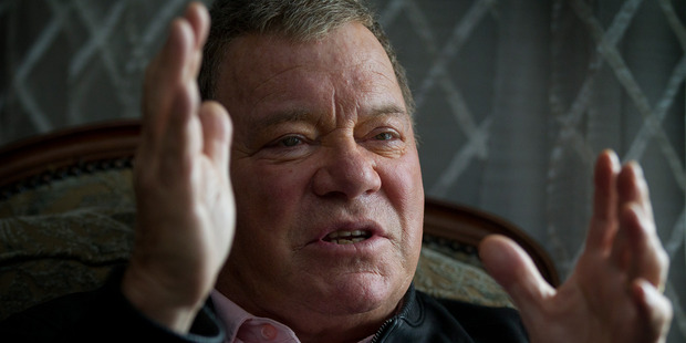 Loading William Shatner is in Auckland promoting Sky's new re-runs channel. Photo / Sarah Ivey