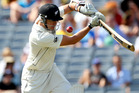 Peter Fulton of New Zealand bats during day one of the Third Test match between New Zealand and England. Photo / Getty Images.