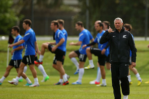 Soccer: All Whites to play in Saudi Arabian tournament