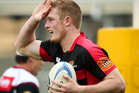 Crusaders wing Johnny McNicholl. Photo / Getty Images.