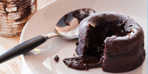 Simon Gault's molten chocolate puddings. Photo / Supplied