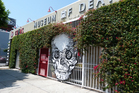 The entrance to the Museum of Death on Sunset Boulevard in Los Angeles. Photo / Megan Singleton