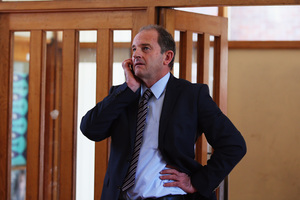National has David Shearer right where it wants him. Photo / Getty Images
