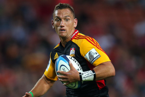 Aaron Cruden of the Chiefs. Photo / Getty Images
