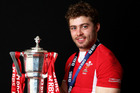 Leigh Halfpenny starred for Wales. Photo / Getty Images