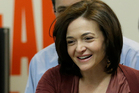 Facebook's Sheryl Sandberg seems to want the whole world to like her.  Photo / AP