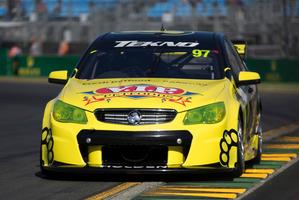 Shane van Gisbergen of Tekno Autosports - part of a strong Kiwi V8 Supercars contingent at the Australian Grand Prix. Photo / EDGE Photographics