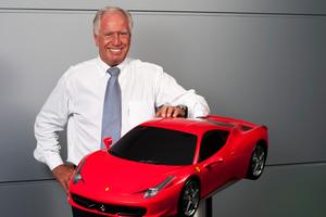 Neville Crichton's European Automotive Imports has boosted Ferrari sales.