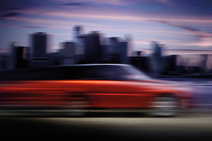 Range Rover's teaser pic of the next-gen Sport, being unveiled at the New York Auto Show. Photo / Supplied