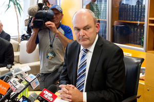 Novopay Minister Steven Joyce. Photo / Mark Mitchell