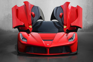 Ferrari's hybrid 'hypercar' LaFerrari, as revealed at Geneva International AutoShow.. Photo / Supplied