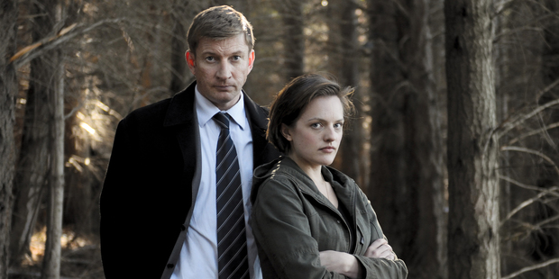 David Wenham and Elizabeth Moss in 'Top of the Lake'. Photo / Supplied