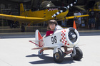 The Classic Flyers museum caters for all ages; a variety of planes are on display. Photo / Supplied